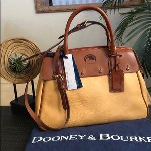 Dooney & Bourke Small Wilson Satchel NWT